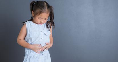 胃が不調な子供