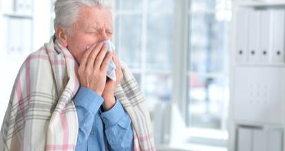 老人の風邪