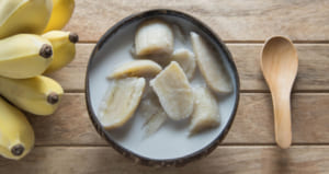 バナナ ミルク