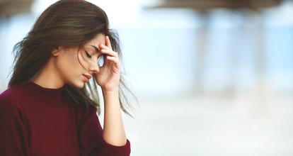 ストレス女性