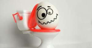 トイレ 卵